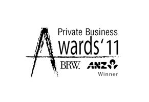 ReadyAimWeb Private Business Awards award winner